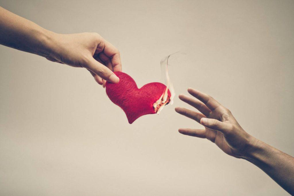 L'amour destructeur dans les relations amoureuses